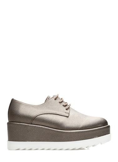Divarese Dolgu Tabanlı Ayakkabı Gri